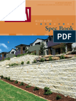Allan Block Spec Book