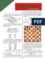 ajedrez 15- Rubinstein vs K. Schlechter