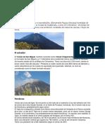 1 Volcan de Cada Pais de Centroamerica