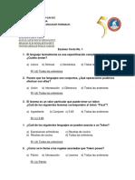 Examen Corto No. 1