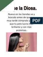 Afiche La Diosa