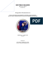 Integration Exam Summer 2019EMELIA CRESCINI Updated