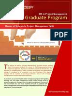 Course Outline Ms Project Management