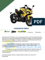 Manual de partes BAJAJ RS200