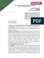 Casación 2251-2016 Tumbes Petición de Herencia (Peruweek.pe)