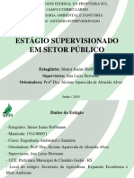 Apresentação - Estágio - Junior Isaías Hoffmann - Prefeitura, Cândido Godói