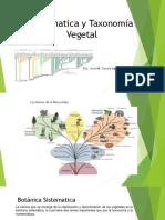 1. Sistematica y Taxonomia Vegetal