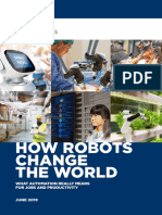 Report - How Robots Change the World