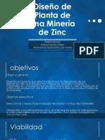 Diseño de Planta de Una Minería de Zinc (1)
