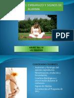 1ra. Sesion de Psicoprofilaxis Las Regines
