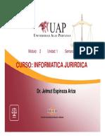 INFORMATICA JURIDICA 2