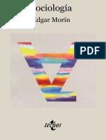 Morin, Edgar. - Sociologia [1995]