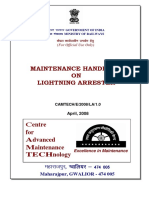 Maintenance handbook on Lightening Arrester.pdf