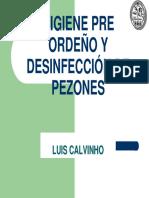 Higiene Pre Ordeño y Desinfección de Pezones Luis Calvinho