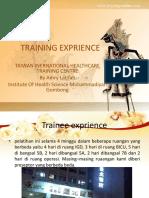 Training Exprience Untuk Kampus