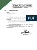 Surat Pengantar KIP