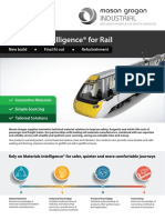 Technical Material Solutions for Rail Mason Grogan Industrial