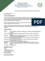 Dengue Protocol