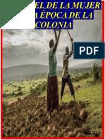 lamujer en la epoca colonial