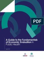 USAID & MEASURE Evaluation (2019) - Guide to Fundamentals of Economic Evaluation in Public Health
