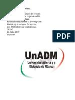 Unidad 1 Contexto Socioeconomico de México.