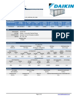 WSHP 120 KBTH_LH_220V3ph_Std_Tstat - Technical Data Sheet