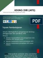 Alat Pelindung Diri PPDS