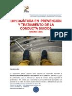 prevención y tratamiento conducta suicida