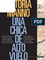 Victoria Manno, Una Chica de Alto Vuelo (Entrevista. Ascensión Al Aconcagua)