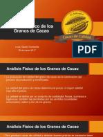 Analisis Físico de Los Granos de Cacao