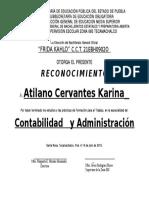 Reconocimientos Capacitacion Julio 2015