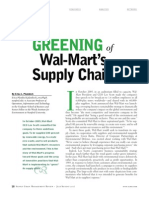 03. the Greening of Wal Mart's Supply Chain