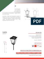 Catalogo Luminotecnia Exterior 91-97