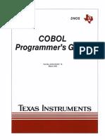 2270516-9701B DNOS COBOL Programmers Guide Mar85