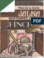 Mazo de la Roche-Mostenirea lui Finch-Jalna -SCAN vol.IIII.pdf