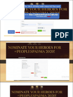 Padma Award Powerpoint Slideshare HR