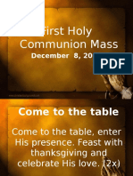 Grade School First Communion Mass 2.pptx