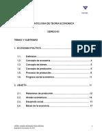 Antología de Teoría Económica