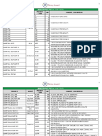 Epinoyload Product List as of May 2019 SMART