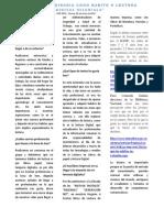 Reportaje Comunicacion Escrita y Procesos Lectores