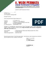 Permohonan Surat Dukungan Bank Wudi