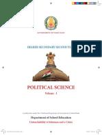 Tamilnadu school book 12 th political science
