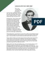 Abraham Lincoln 1809