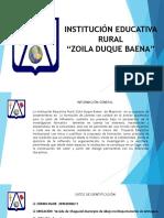 Presentación y Caracterización de La Organización