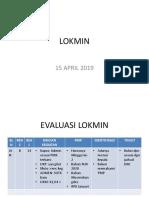 Lokmin 15 April 2019 Mutu