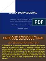 PPT N° 10  Teoria socio cultural