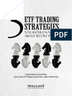 ETF Trading strategies