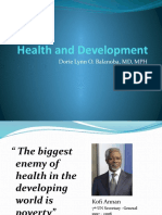 2Health and Development