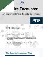 Service Encounter 1