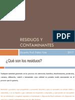 Residuos y Contaminantes